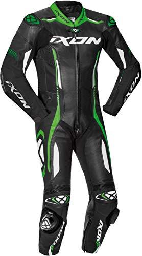 IXON 102201011-1015 Traje de moto Negro/blanco/verde. large