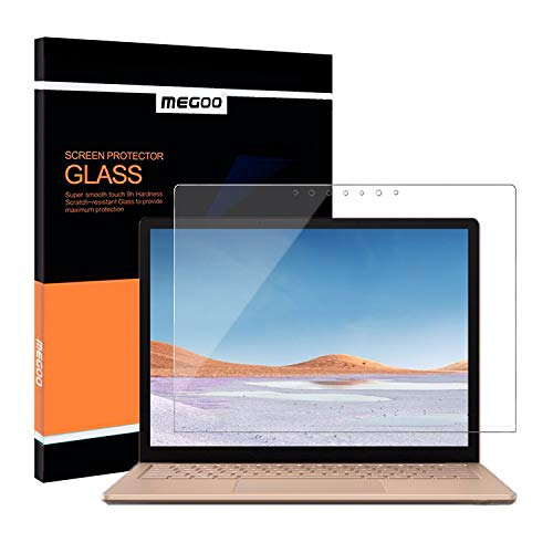 Megoo Tempered Glass Screen Protector for Microsoft Surface Laptop 3 (15 inch), Easy Installation, Anti-Scratch, Ultra Clear Screen Protector for Surface Laptop 15 inch