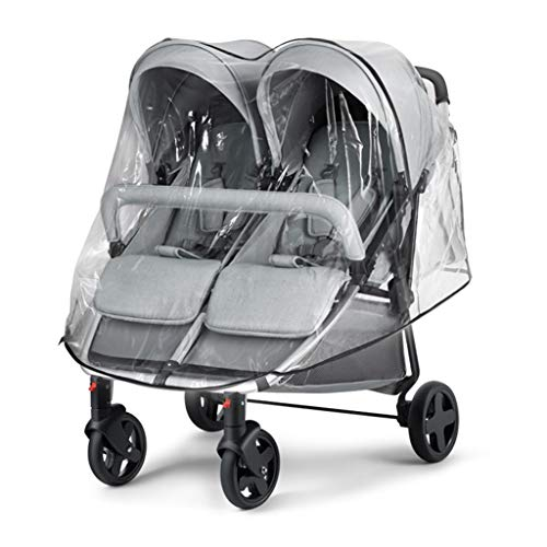 baby stroller Cochecito Doble, Soporte Ligero de aleación de Aluminio, recuéstese y siéntese en cochecitos de Viaje Gemelos, Capacidad de Carga de 30 kg, cinturón de Seguridad de Cinco Puntos