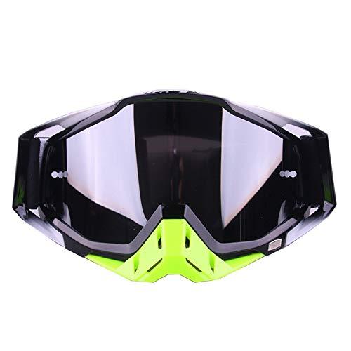 Ouuager-Home Schutzbrille Single Layer Brille UV-Schutz Anti-Fog Snow Goggles for Männer Frauen Jugend Winter Outdoor Motorschlitten Skifahren Skating Motorrad-Schutzbrille (Color : 02)