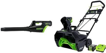 GreenWorks Pro 80V Leaf Blower + Snow Thrower, 2Ah Battery & Charger