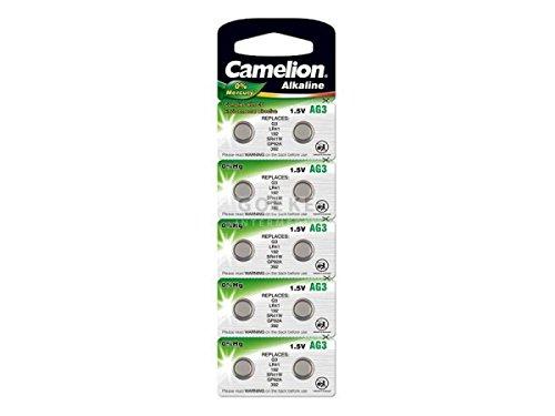 Camelion Knopfzelle LR1130 10er Blister, Alkaline, 1,5V