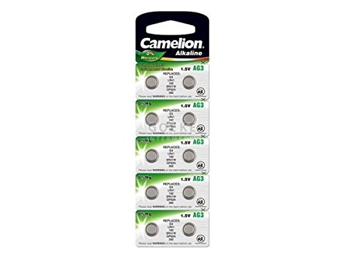 Lot 10 Piles bouton Batterie Alcaline battery AG3 LR41 247 247B 280-18 280-13 WS4 S13