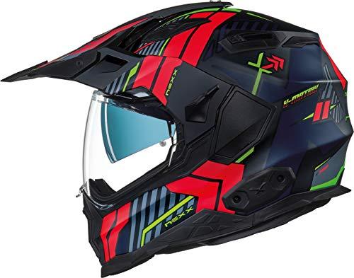 Nexx X.Wed 2 Wild Country Helm Schwarz/Rot XL (61/62)