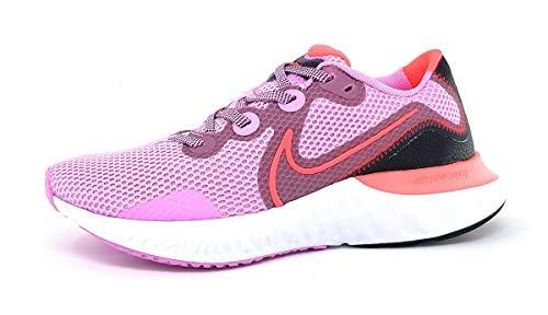 Nike WMNS Renew Run Sportschuhe Damen Laufschuhe Sportschuh Rosa Sport, Schuhgröße:EUR 38 | US 7