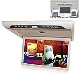 wansosuper Auto-Overhead-Monitor-Bildschirmanzeige - 19-Zoll-Klappdachmonitor-Deckenfernseher HDMI -...
