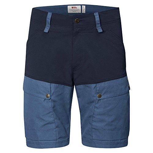 FJÄLLRÄVEN keb Pantalon Court Homme L Bleu Marine/Bleu (Dark Navy-Uncle Blue)