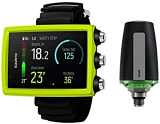 Suunto Eon Core Wrist Dive Computer - Lime With Transmitter And USB