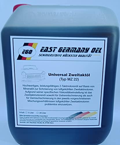 East Germany OIL Zweitaktöl Trabant-Wartburg-Simson Kanister 5 Liter