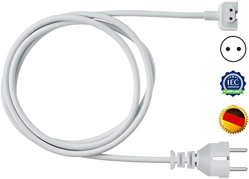 MacBook Pro Netzteil-Verlängerungskabel, Kompatibel mit Wandkabel für alle Apple MacBook Adapter