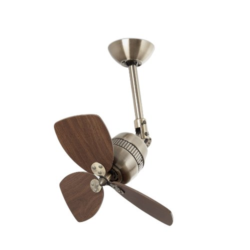Faro Barcelona Vedra 33450 Ventilator ohne Licht, Aluminium und Flügel aus MDF-Holz