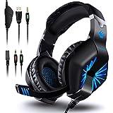 ELEGIANT Auriculares Gaming, Cascos Gaming PS4 con Micrófono Gamer...