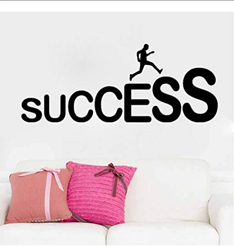 JHLP Vinyl Decal Success Carrière Ladder Job Office Decoratieve Muursticker Office Kantoor Klas Decoratieve Muursticker 104x42cm