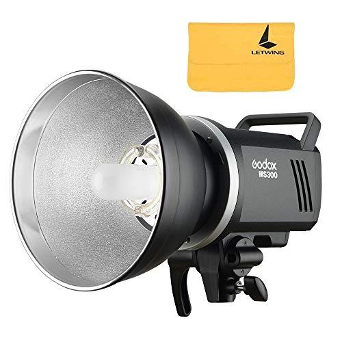 Godox MS300 300WS 220V 2.4G kabellose Fernbedienung und Leichter, kompakter und langlebiger Studioblitz, 0,1 S 1,8S Recyclingzeit, 5600 ± 200k...