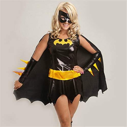 Alta Qualità Nero Batman Costume Adulto Batgirl Donne Costumi Halloween Per Donne Sexy Supereroe Cosplay Maschera Capo Custome