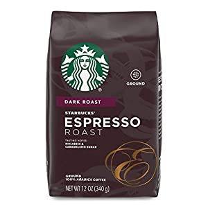 Starbucks 12oz Dark Roast Espresso Grounds