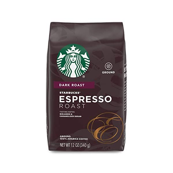 Starbucks 12oz Dark Roast Espresso Grounds
