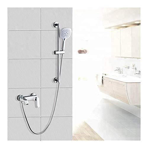 ZJN-JN Ducha de Mano Baño de Pared Conjunto de Ducha y baño Simple Elegante Conjunto, de fácil instalación (Baño y Ducha Grifo Tipo: Dentro de la Pared Grifería Ducha) Sistemas de Ducha