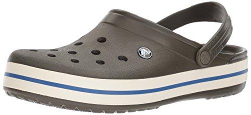 Crocs Crocs Damen Crocband U Pantoletten Clog, Grün (Dunkle Camo grün), Gr.-38/39 EU