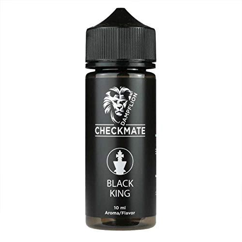 Black King 10ml Aroma Bottlefill by Dampflion Checkmate Nikotinfrei