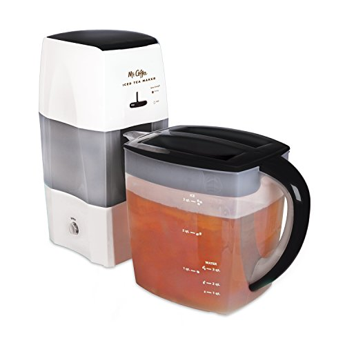 Mr. Coffee 3-Quart Iced Tea and Iced Coffee Maker, Black