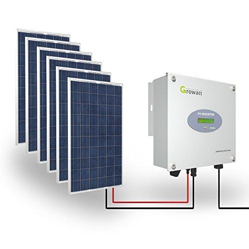 Growatt Solar Set 1500-S PV Inverter 1600 W Wechselrichter 1-phasig Display