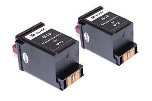Set vhbw 2X Cartuchos de Tinta impresión para Samsung SF-4000, SF-4020, SF-4100, SF-4108, SF-4120 como Samsung INK-M10, Lexmark 13400HC.