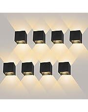 8 Pack wandlamp