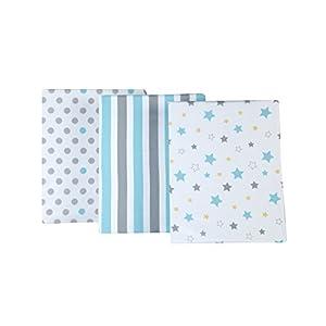 Little Bedding by NoJo Twinkle Twinkle 3 Piece Crib Sheets
