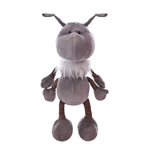 DressU Calidad 30cm Hormiga Linda Juguete de Felpa Hormiga Los Animales de Peluche muñeca Regalo de los niños Juguetes For Cumpleaños Piel