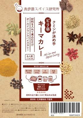 ピリ辛キーマカレー オールインワンスパイスカレー 6人前(3人前×2)