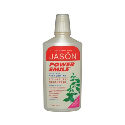 Jason Natural Products PowerSmile Mouthwash 16 Ounce Industry No. 1 ca per - 6 Free shipping on posting reviews