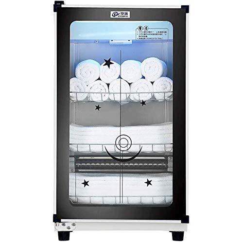 MFZJ Scaldasalviette 3 in 1 Armadio Professionale sterilizzatore ad ozono UV Sterilizzatore per Asciugamani Umido con disinfezione Regolare Spa facciale e Attrezzature per saloni