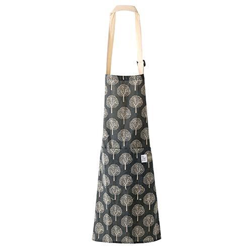 Amorar Frauen Küchenschürze Backschürze Kochschürze Gartenschürze Arbeitsschürze Baumwolle Verstellbare Nackenschlaufe Restaurant Hotel Latzschürze Grillschürze mit Taschen 68*72cm EINWEG Verpackung