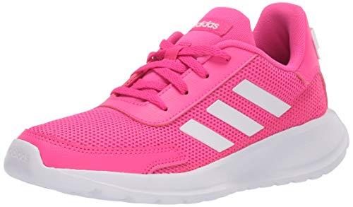 adidas Boy's Tensaur Run K Sneaker, Pink, 12K M US Big Kid