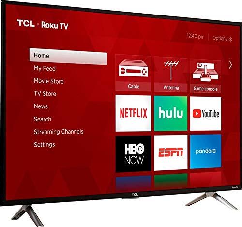 TCL 43S303 - Televisor LED inteligente de 1080p Roku (43 pulgadas, reacondicionado)