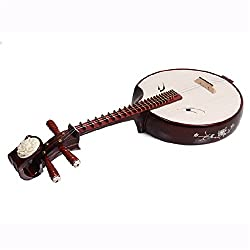 National Stringed Instrument Red Sandalwood Zhongruan Suitable for Performance and Beginners
