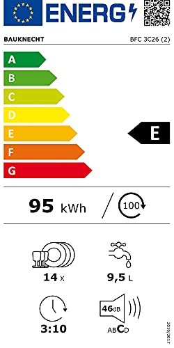 Bauknecht BFC 3C26 Freistehender Geschirrspüler / A++ - 10