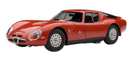 Autoart - 70198 - Véhicule Miniature - Alfa-Romeo Giulia TZ 2 - 1965 - Echelle 1:18