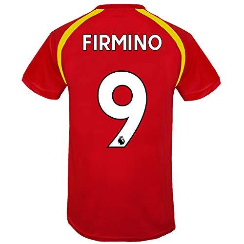 Liverpool FC - Jungen Trainingstrikot - Offizielles Merchandise - Rot - Firmino 9-12-13 Jahre