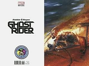 Ghost Rider 1 Robbie Reyes Dell'Otto SECRET VIRGIN VARIANT 500