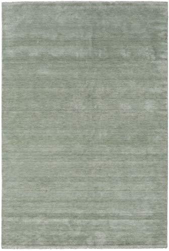 CarpetVista Alfombra Handloom Fringes - Soft Teal 200x300 Alfombra Moderna