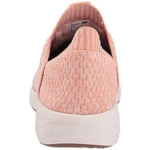 New Balance Women's Cruz Sock Fit V2 Fresh Foam Running Shoe, Phantom/Faded Copper/Pink Mist, 8.5 B US