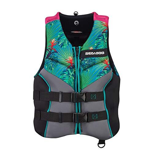 Sea-Doo 2021 Ladies Airflow Life Jacket Ecoprene Aloha Edition
