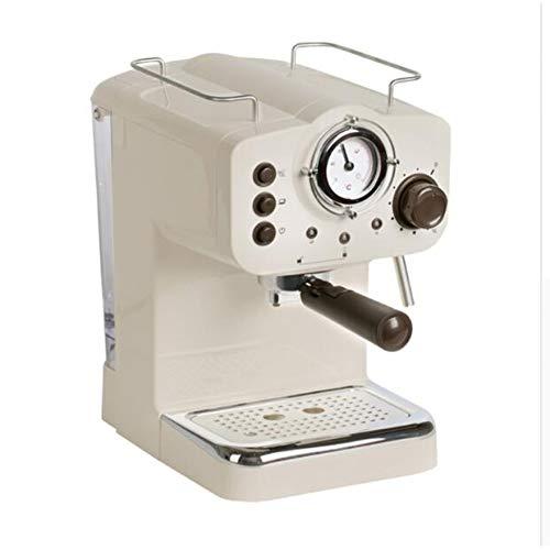 CTDMMJ Cafetera 15 Bar Máquina de café exprés Máquina de café exprés semiautomática Cafetera doméstica Espumador de Leche Comercial
