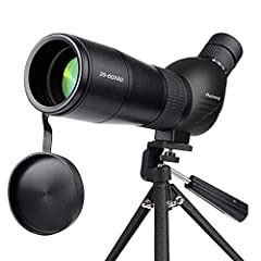 ★[WIDE VIEW RANGE WITH FOGPROOF DESIGN]60mm.objective lens to ensure the light-gathering power and resolution,as well as large view range.The telescope's fogproof desing allows you observe the target easily in rainy and fogy weather. ★[FREE TABLE TRI...