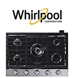 FireFly Home Stove Top Protector for Whirlpool Gas CookTop, Custom Fit Ultra Thin Reusable Burner Splatter Spill Guard Protective Cover Liner - WCG97US6HS