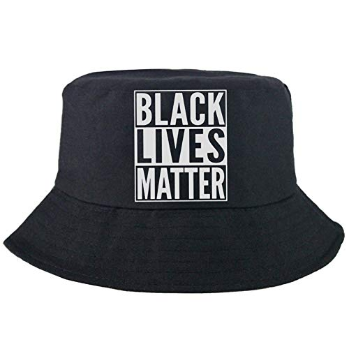 yanqiu I Can't Breathe, Black Lives Matter Cap, Justice Hat Fisherman's Hat(Blue)