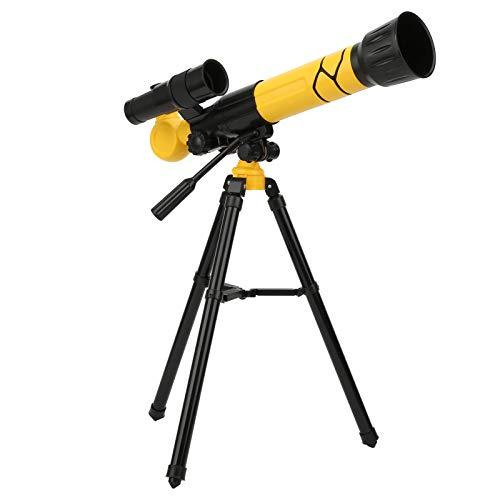 BTER Telescopio astronómico para niños y Principiantes, telescopio Refractor astronómico 20X / 30X / 40X Zoom HD con trípode y 3 oculares, telescopio de Viaje portátil para Ver el Planeta y la Luna