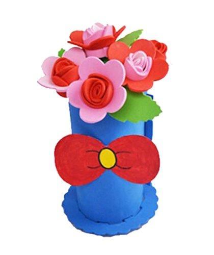 2 jeux d'enfants élégant bricolage en pot de se leva en EVA décoratifs